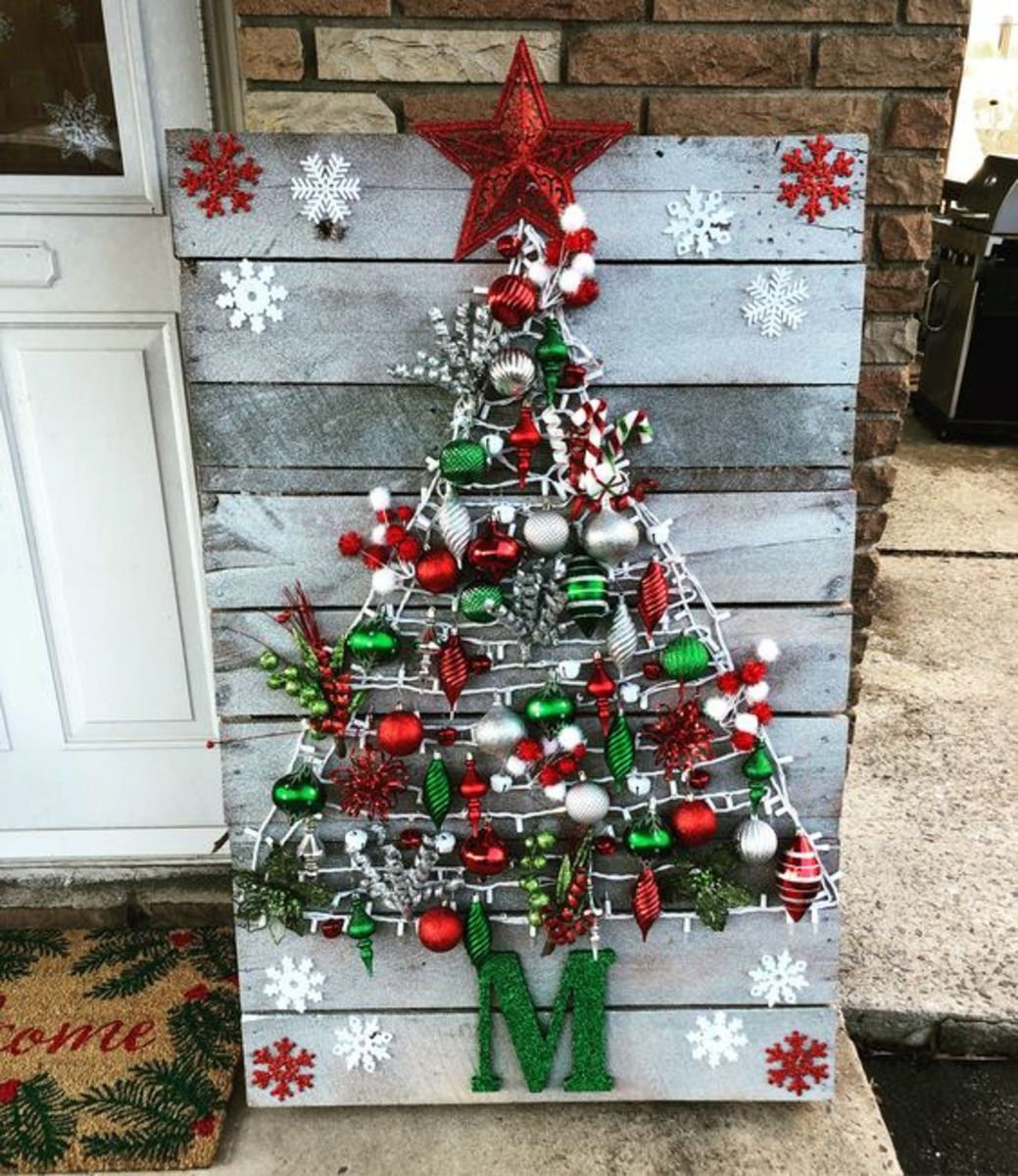 Diy Pallet Christmas Tree Ideas Hubpages