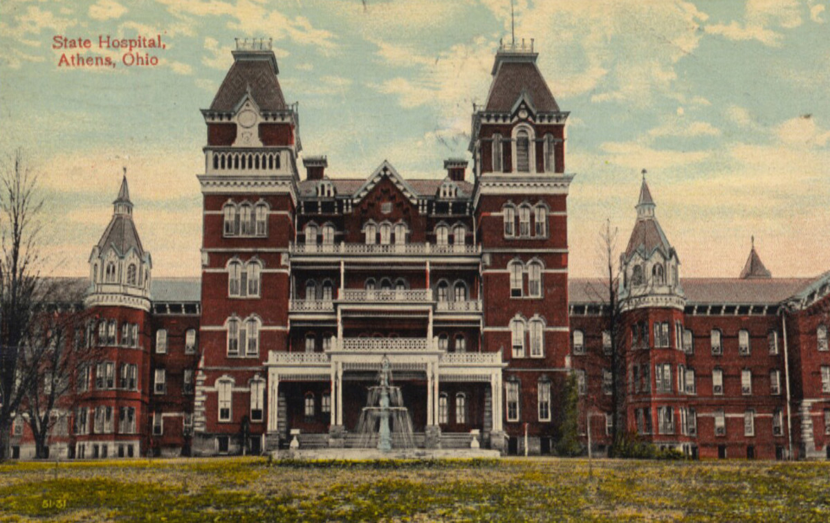 Haunted Athens Lunatic Asylum Now the Ridges