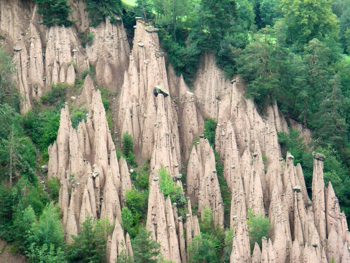 The Ritten Earth Pillars, Italy