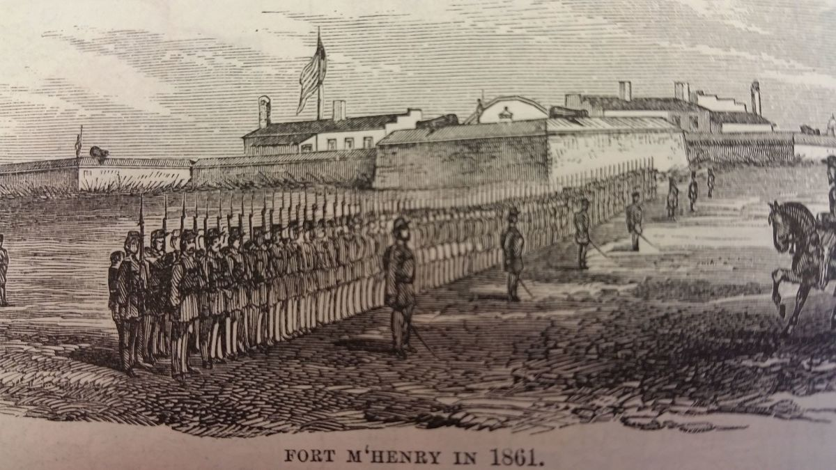Fort McHenry 1861