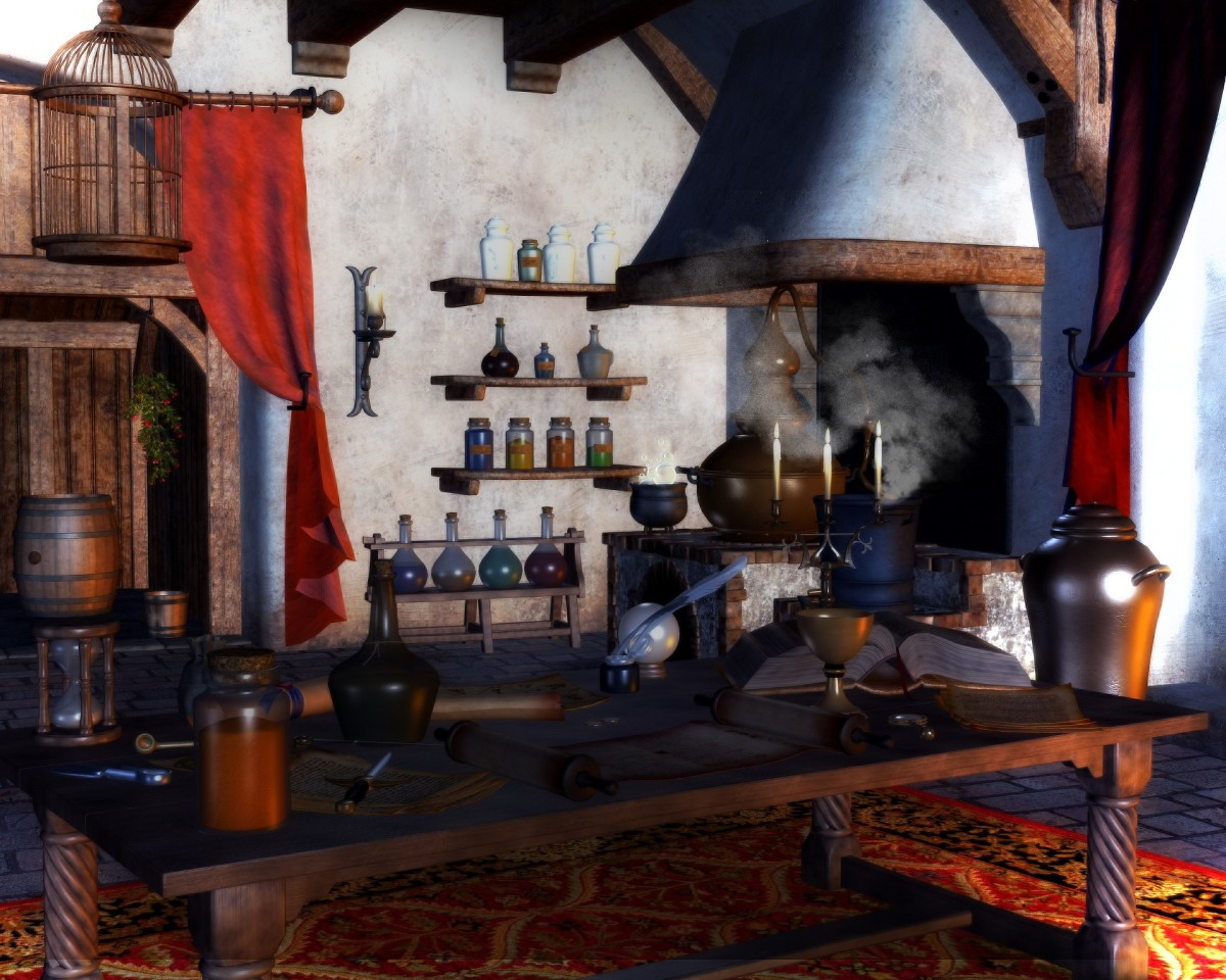 Potions - Herbs and Spices