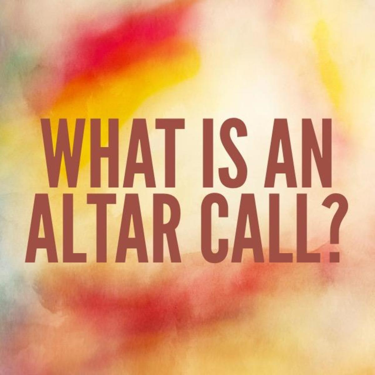 What Is an Altar Call and Is It Necessary?