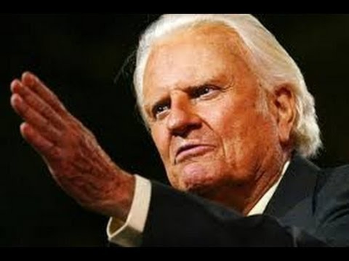Evangelist Billy Graham, November 7, 1918 – February 21, 2018. Died at age 99.