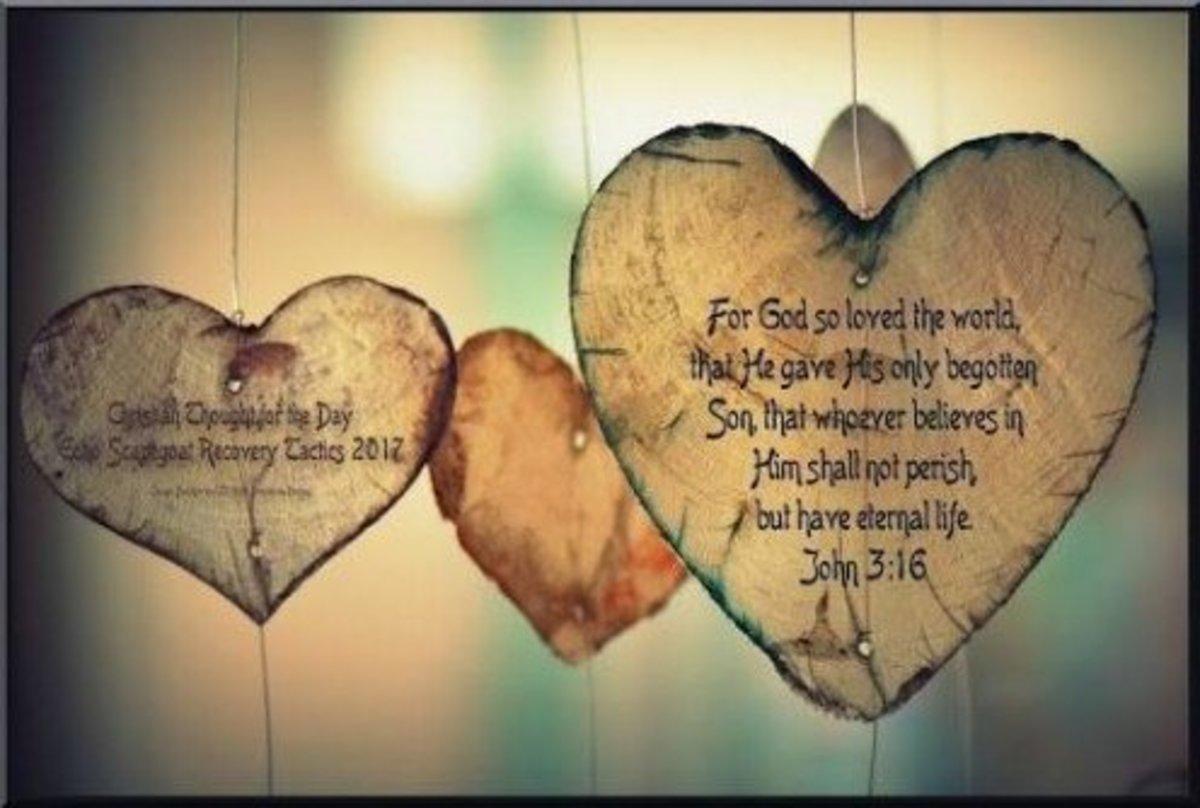 John 3:16 - For God so loved the world...