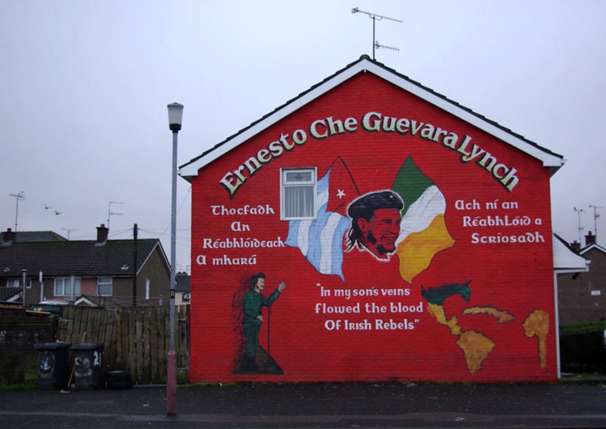 Che memorial mural, Derry