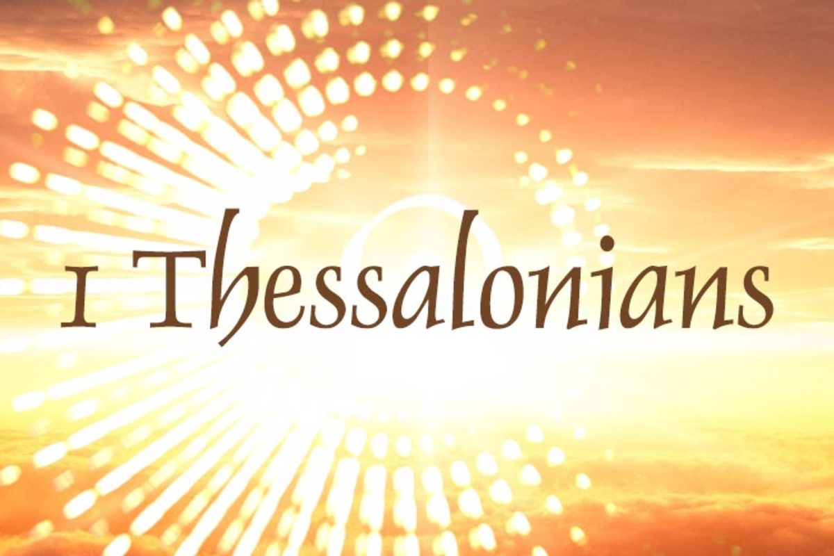 The Portrait of a Faithful Church (I Thessalonians 1:1-10)