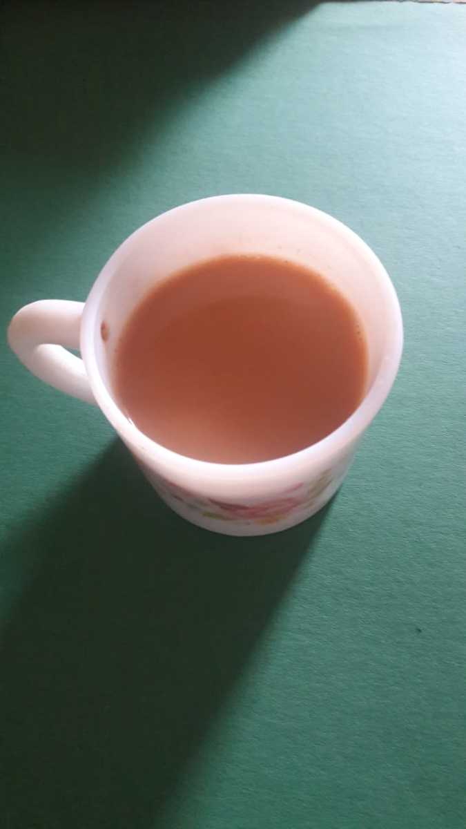 Refreshing Common Masala Tea of India