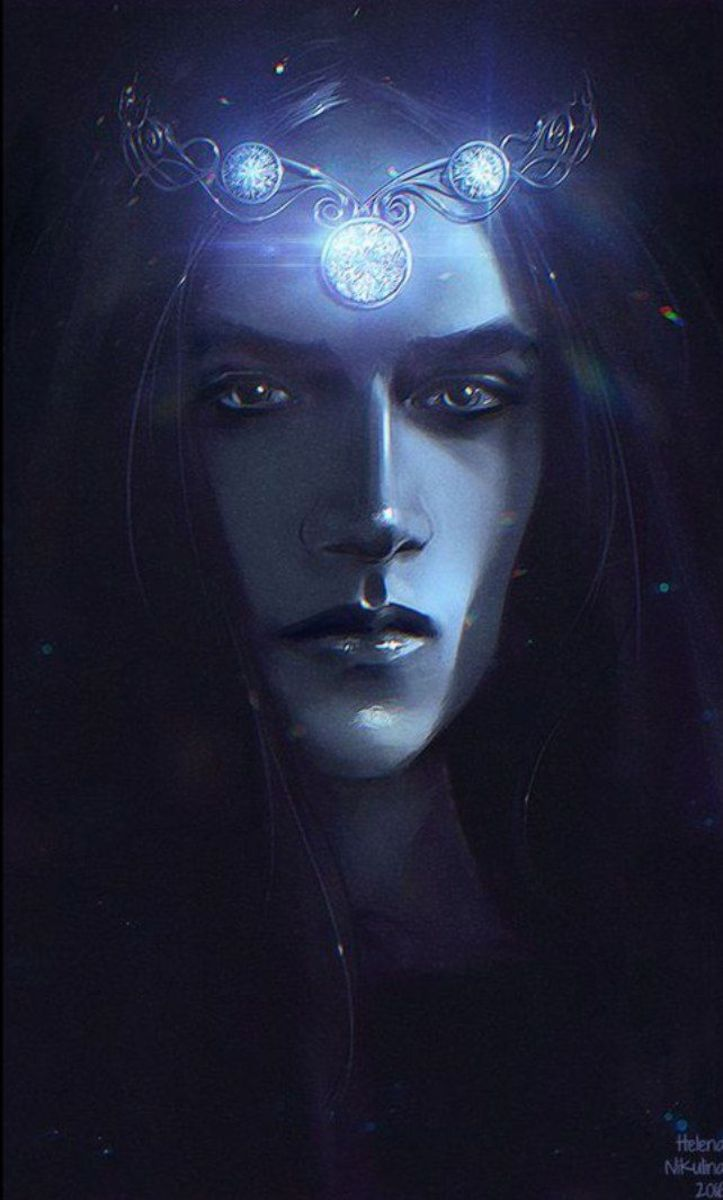 By Nikulina-Helena.  Feanor embodied everything about  Noldor, their gifts and their faults.