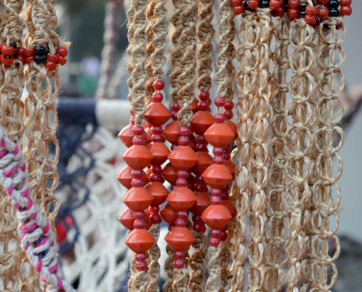 Coir rope decorative hangings
