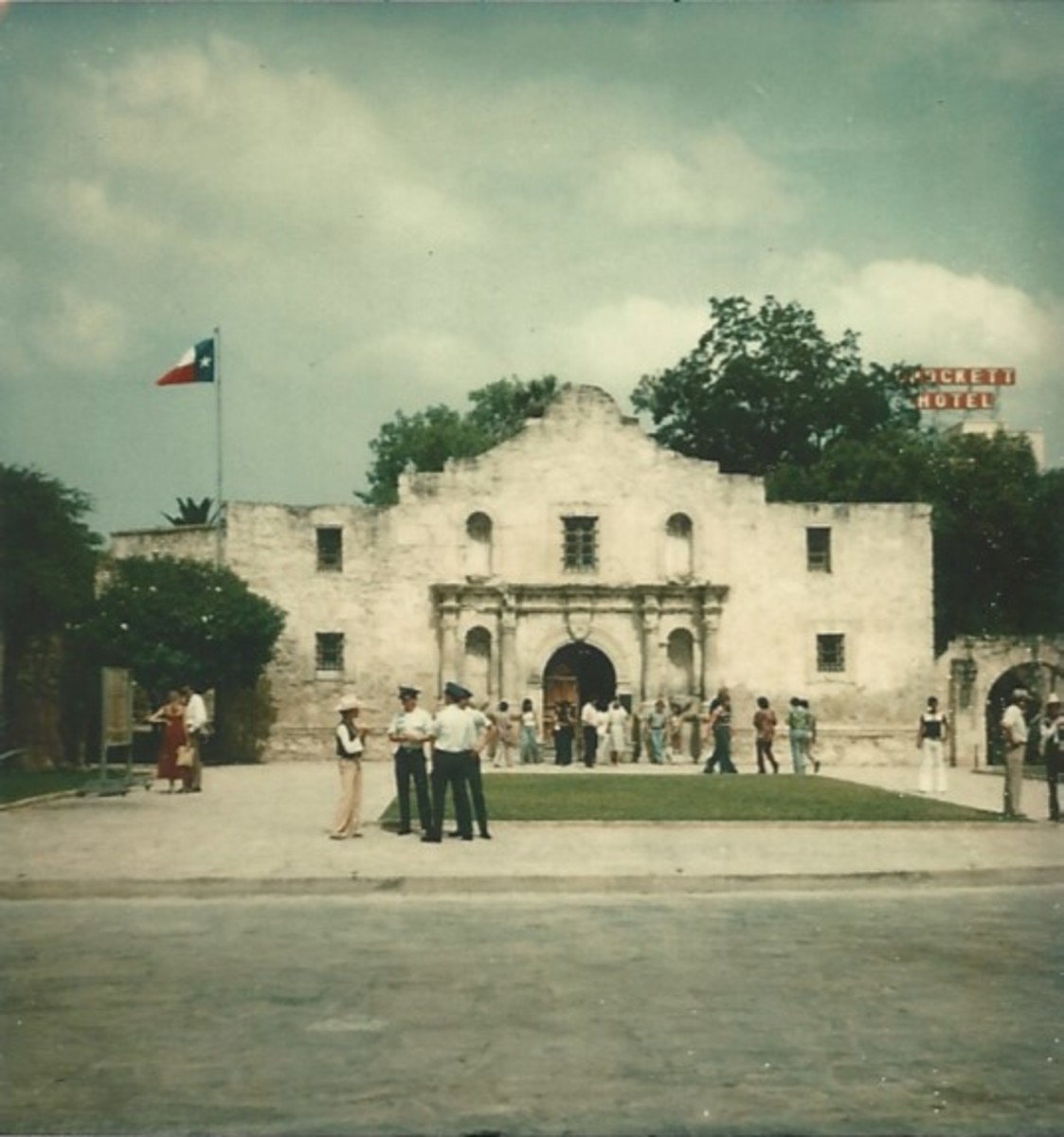 The Alamo in the 1970s