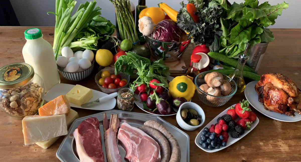 A high-fat, high-protein, low-carbohydrate diet full of nutrient-dense foods that support endocrine functionality and normal appetite cues.