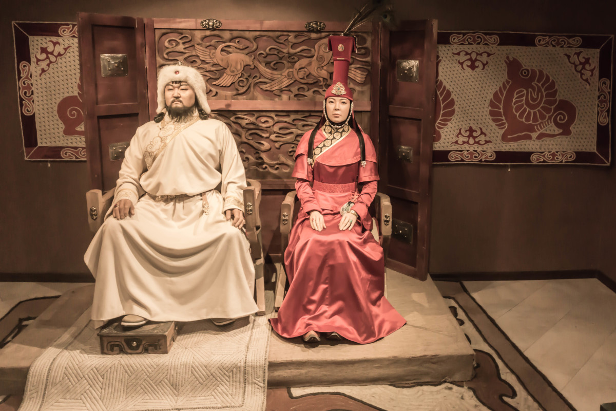 Genghis Khan history at the museum