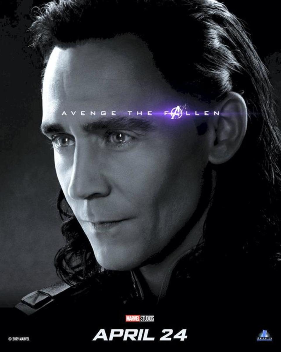 Loki poster for Avengers: End Game