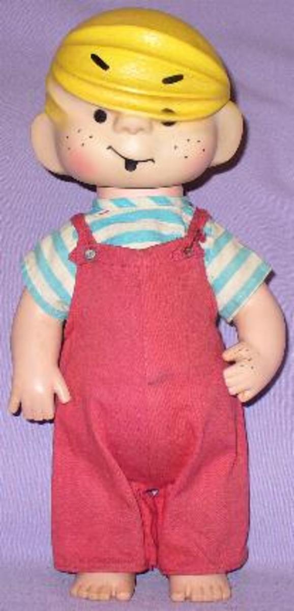Dennis the Menace doll