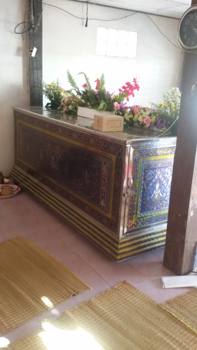 Casket of the Deceased