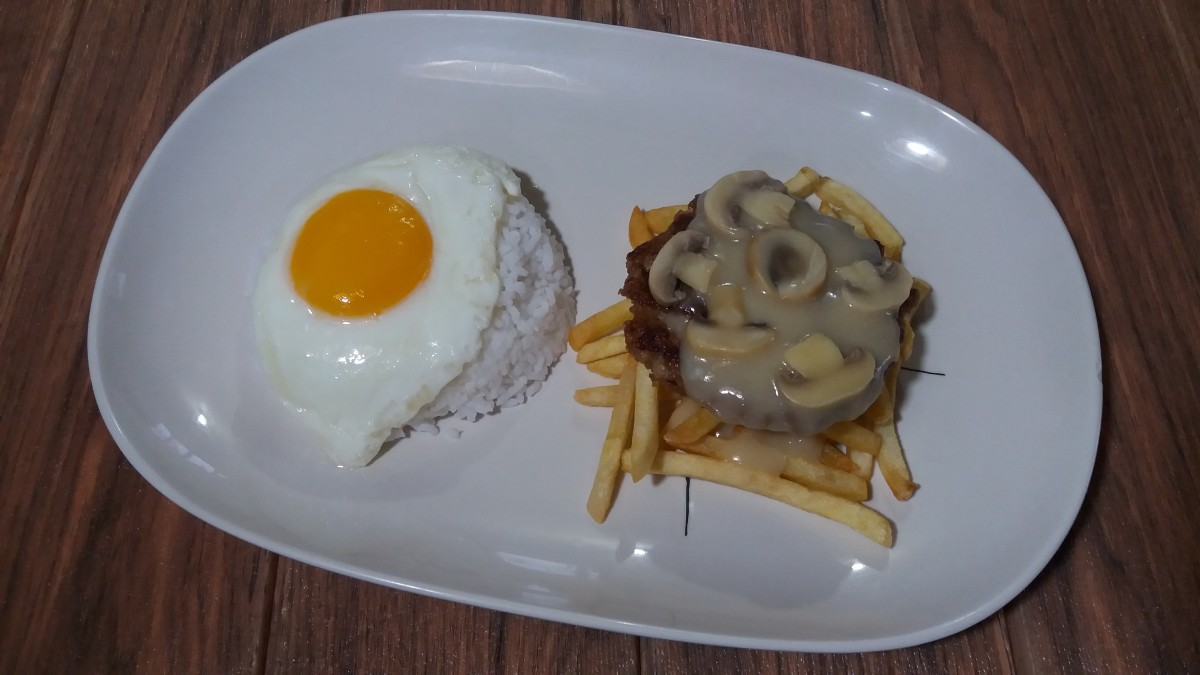Jollibee burger steak supreme recipe