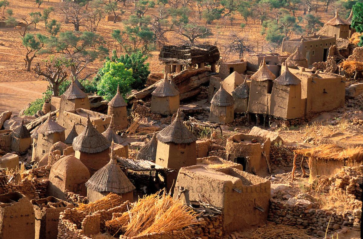 Cliffs of Mali