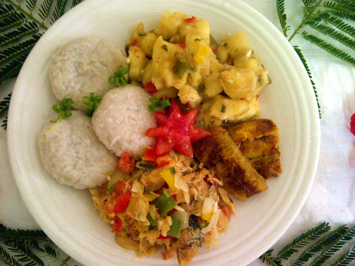 St. Kitts and Nevis National Dish. Courtesy of Michelle Flanders