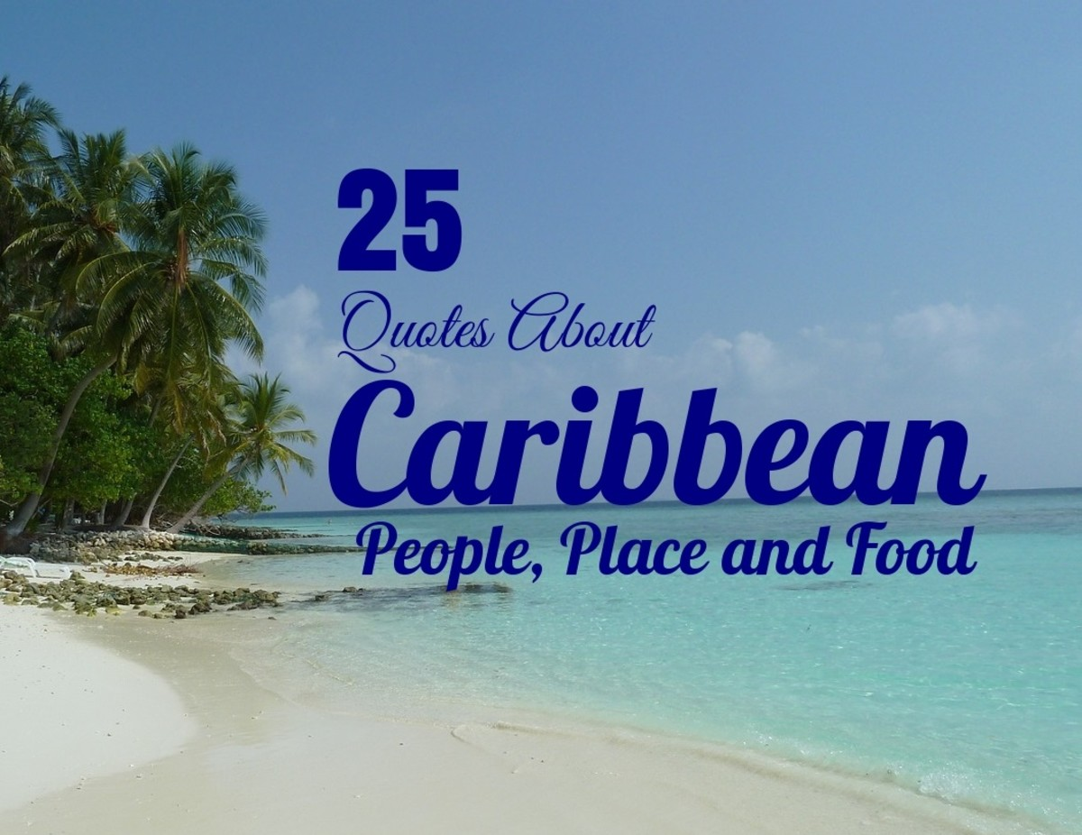 25 Quotes About Caribbean People, Place and Food