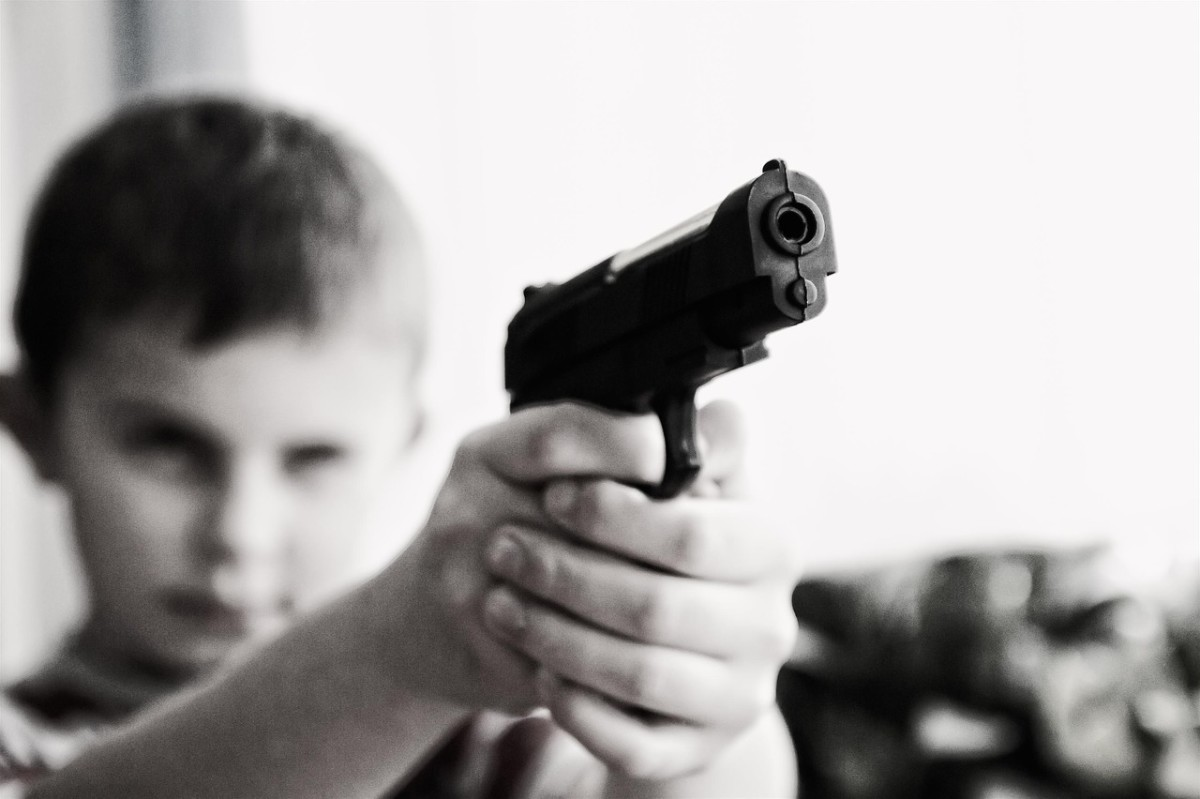 You'd rather see your child with a gun, than their lips pressed against someone else's.