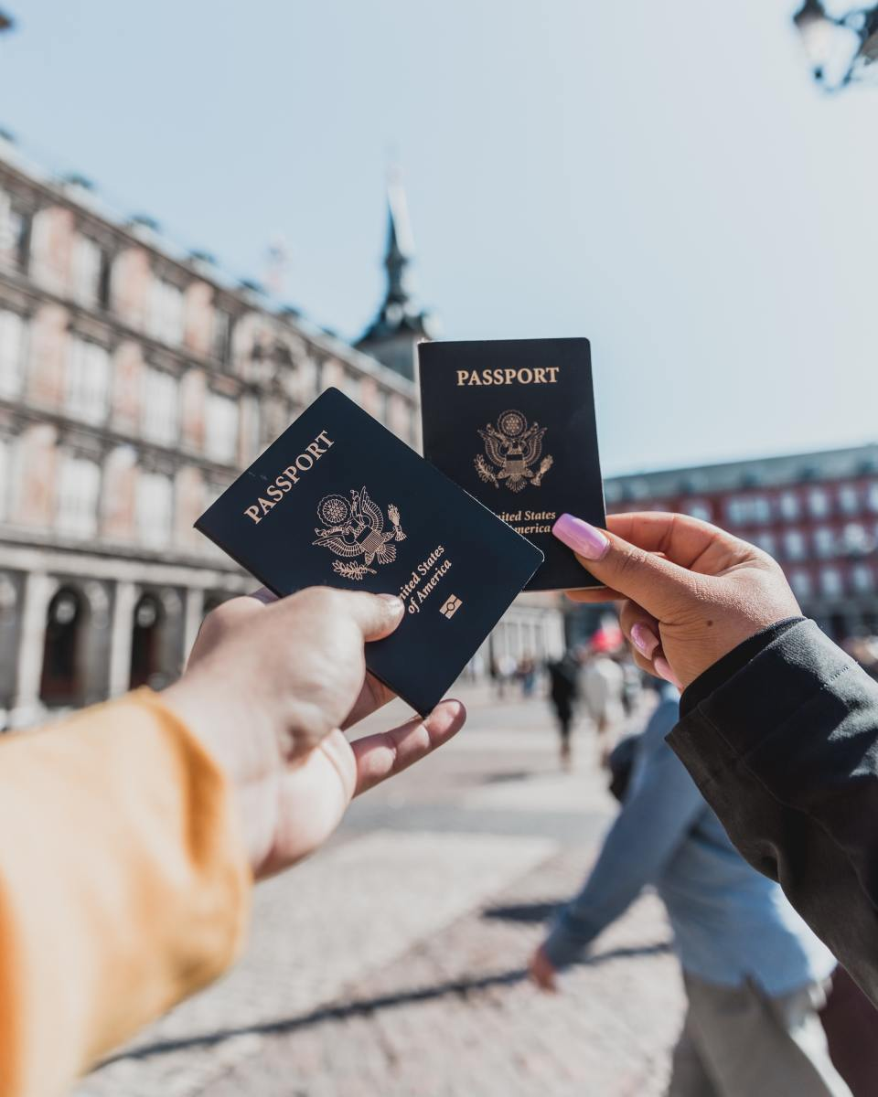 For peace of mind, make copies of your passport.
