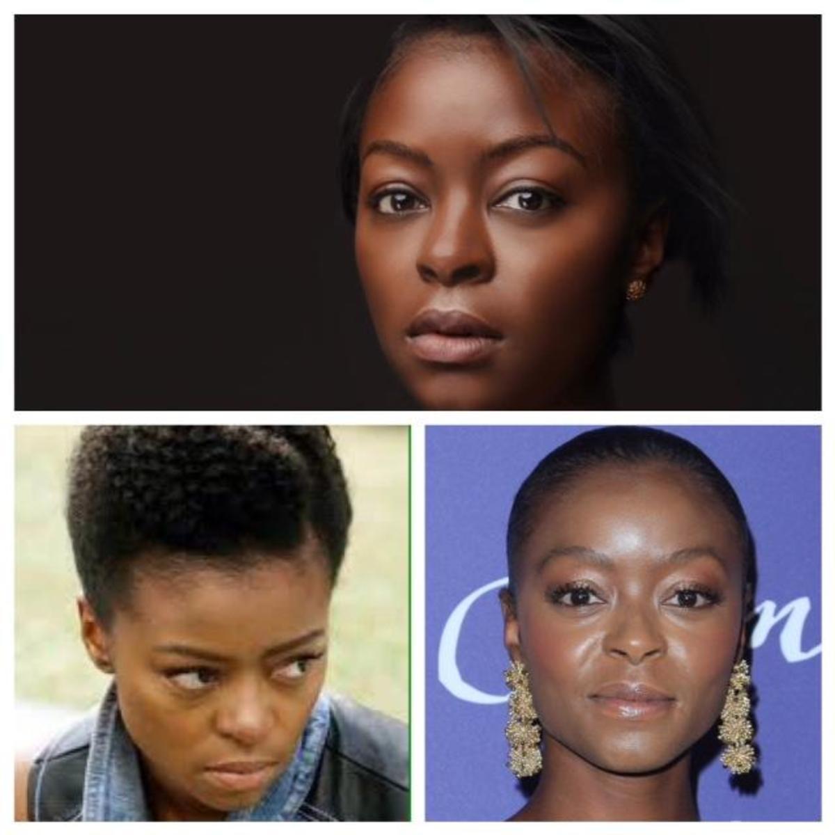 """Three different faces of La'Quita """"Quita"""" Maxwell, age 37"""