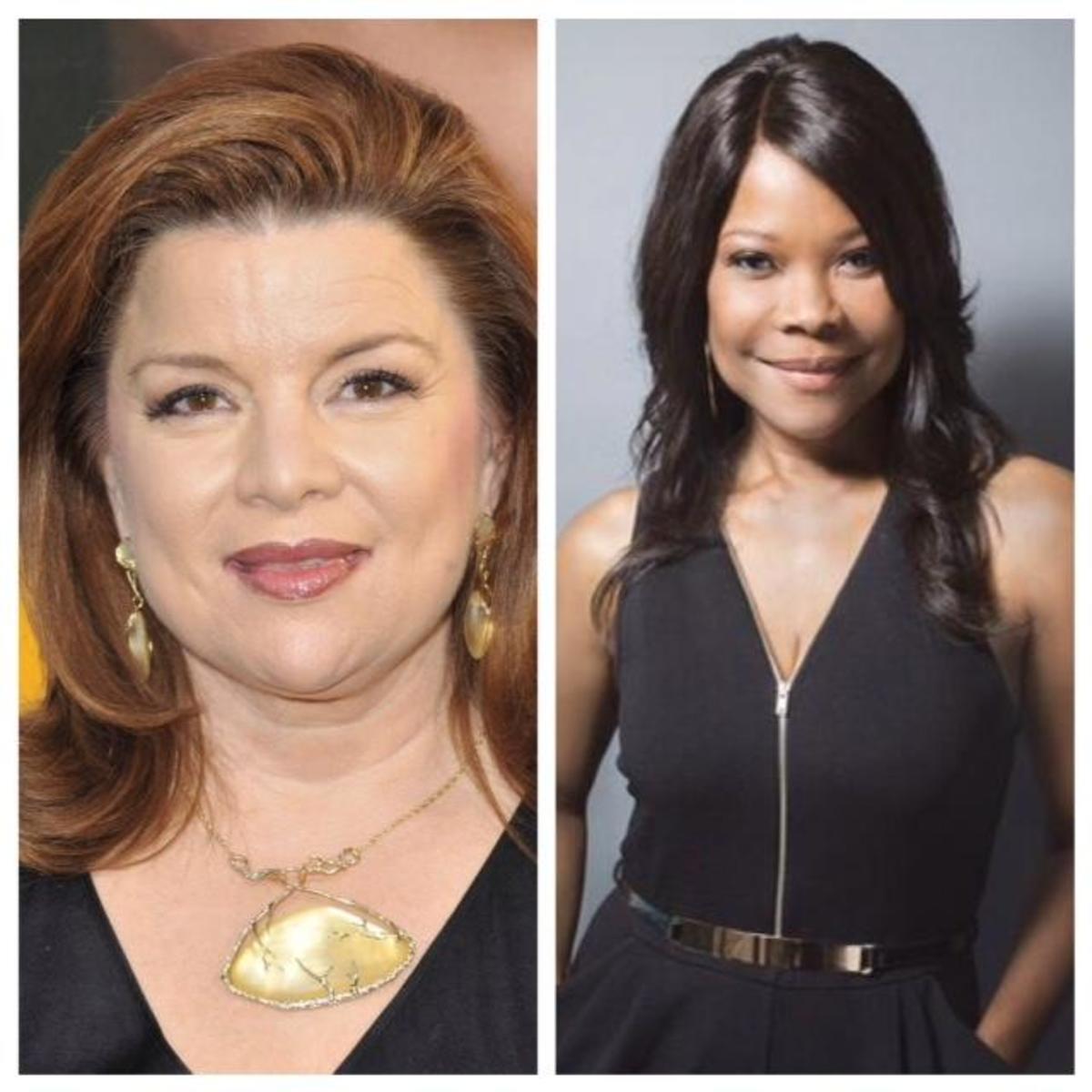 Left: Katheryn Cryer. Right: Veronica Harrington