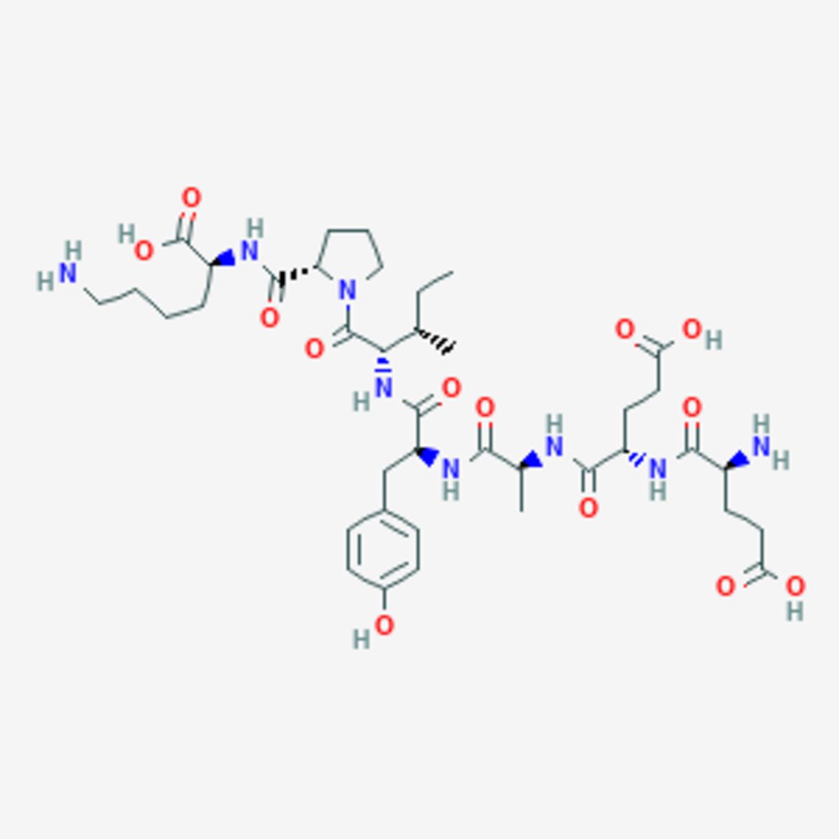 Molecular set up of Human Growth Hormone