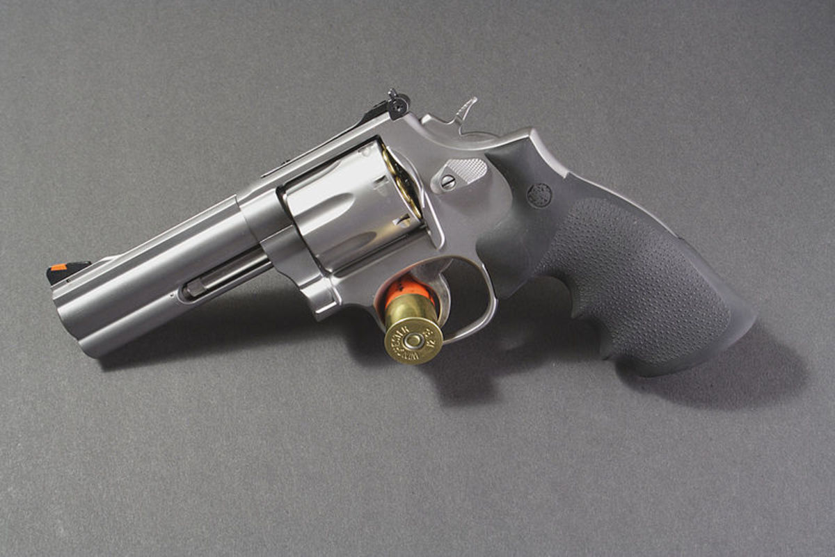 S&W 686 with 4-inch barrel.