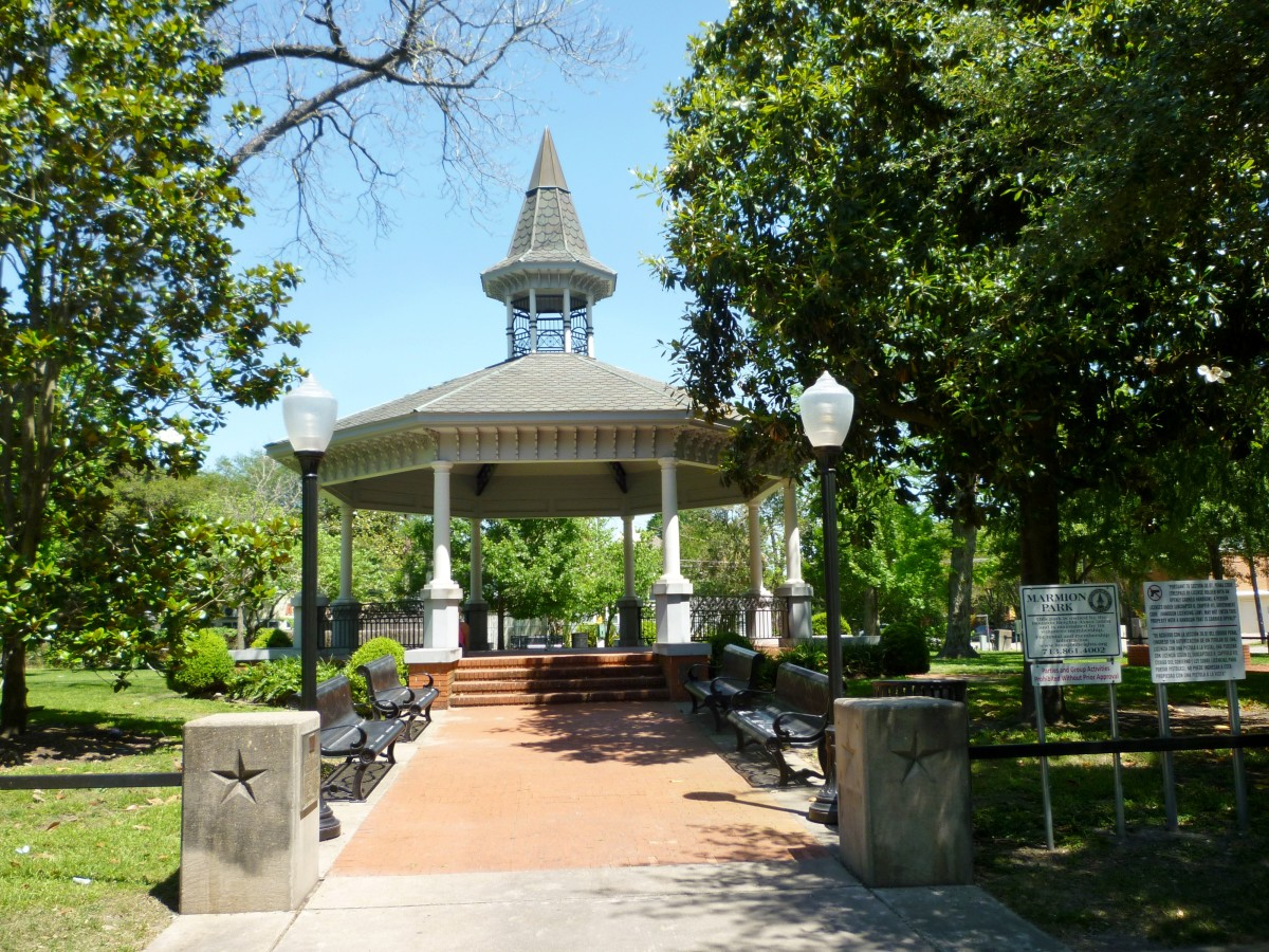Marmion Park in the Houston Heights: Gazebo Photography Site