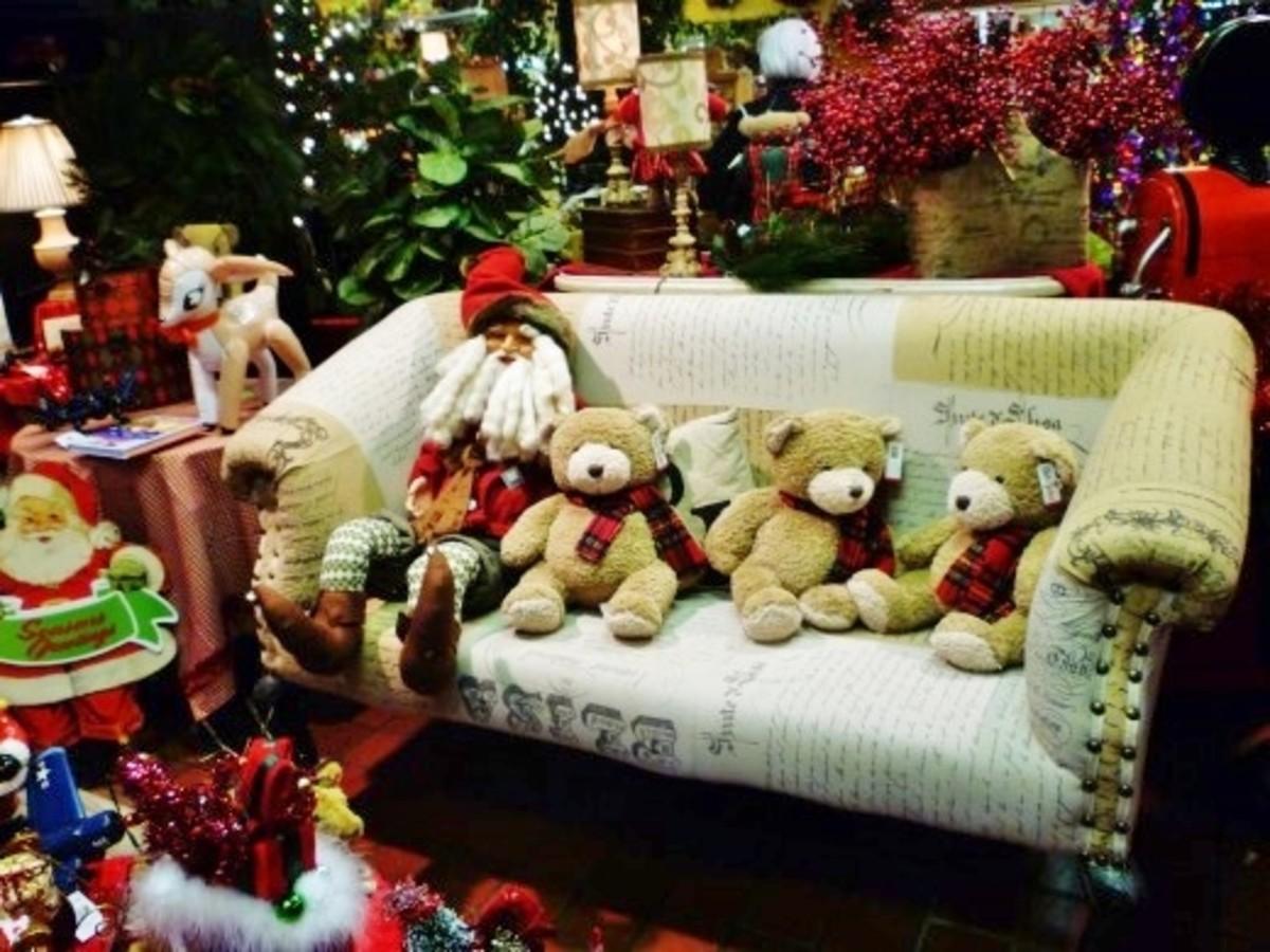 Cornelius Nursery: A Houston Christmas Visual Wonderland
