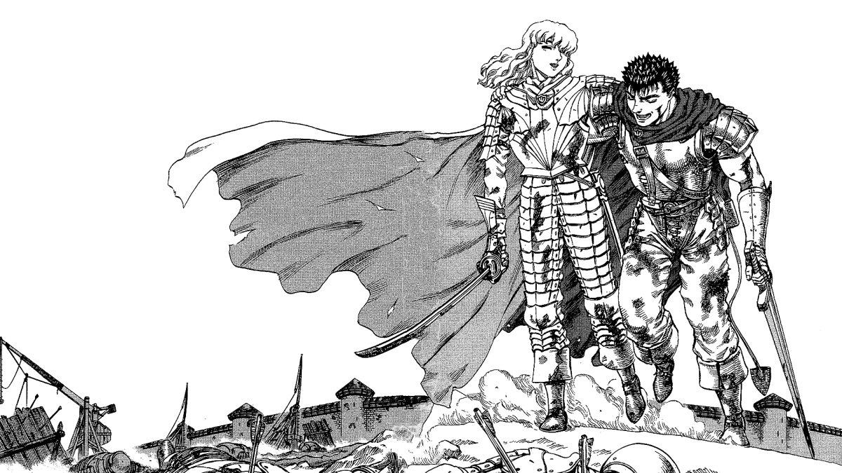 Guts and Griffith represent the ultimate drive and struggle to dream and pursue their goals.