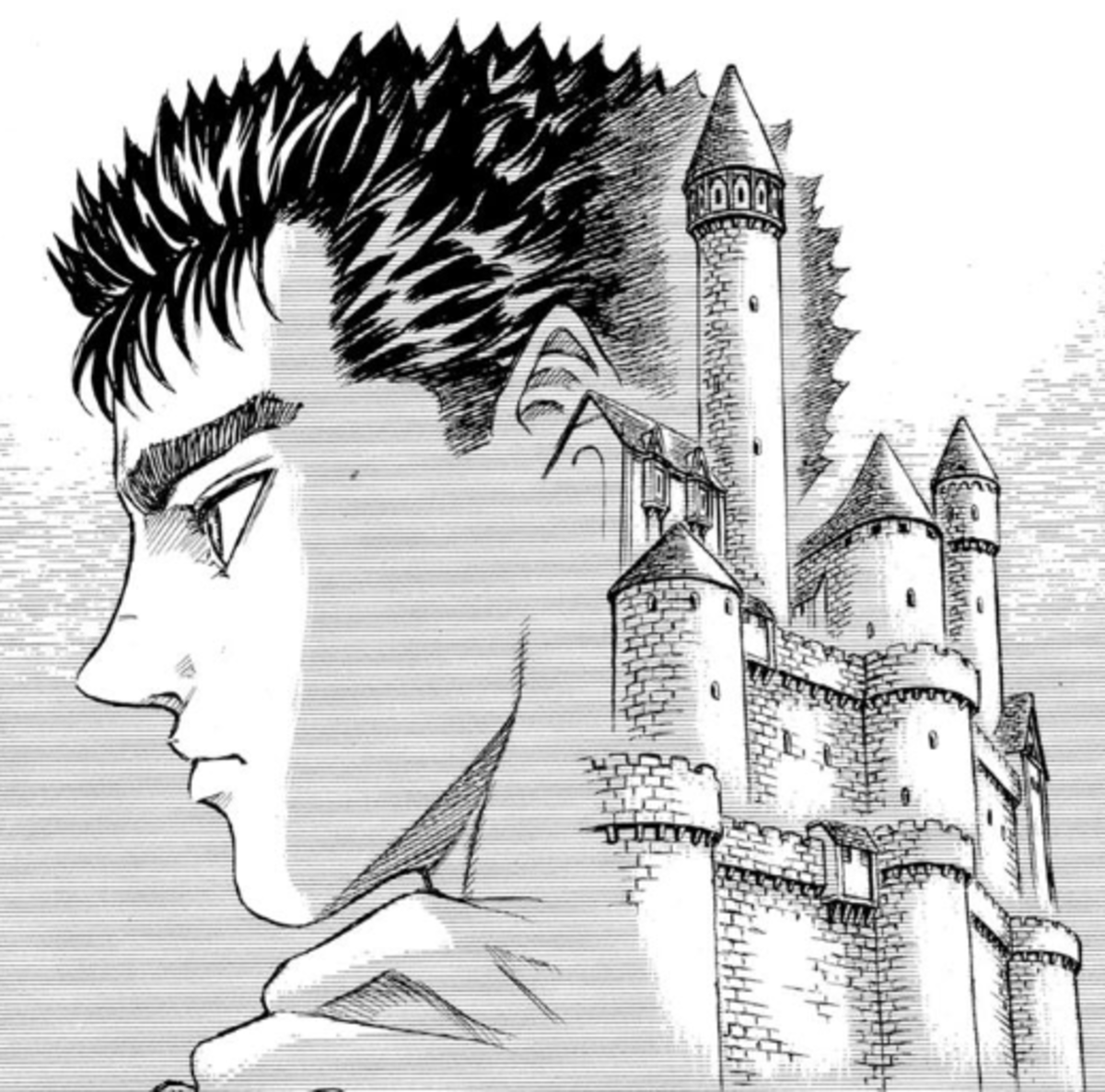 The role of Guts in Griffith's dream is a deep existential question for the series