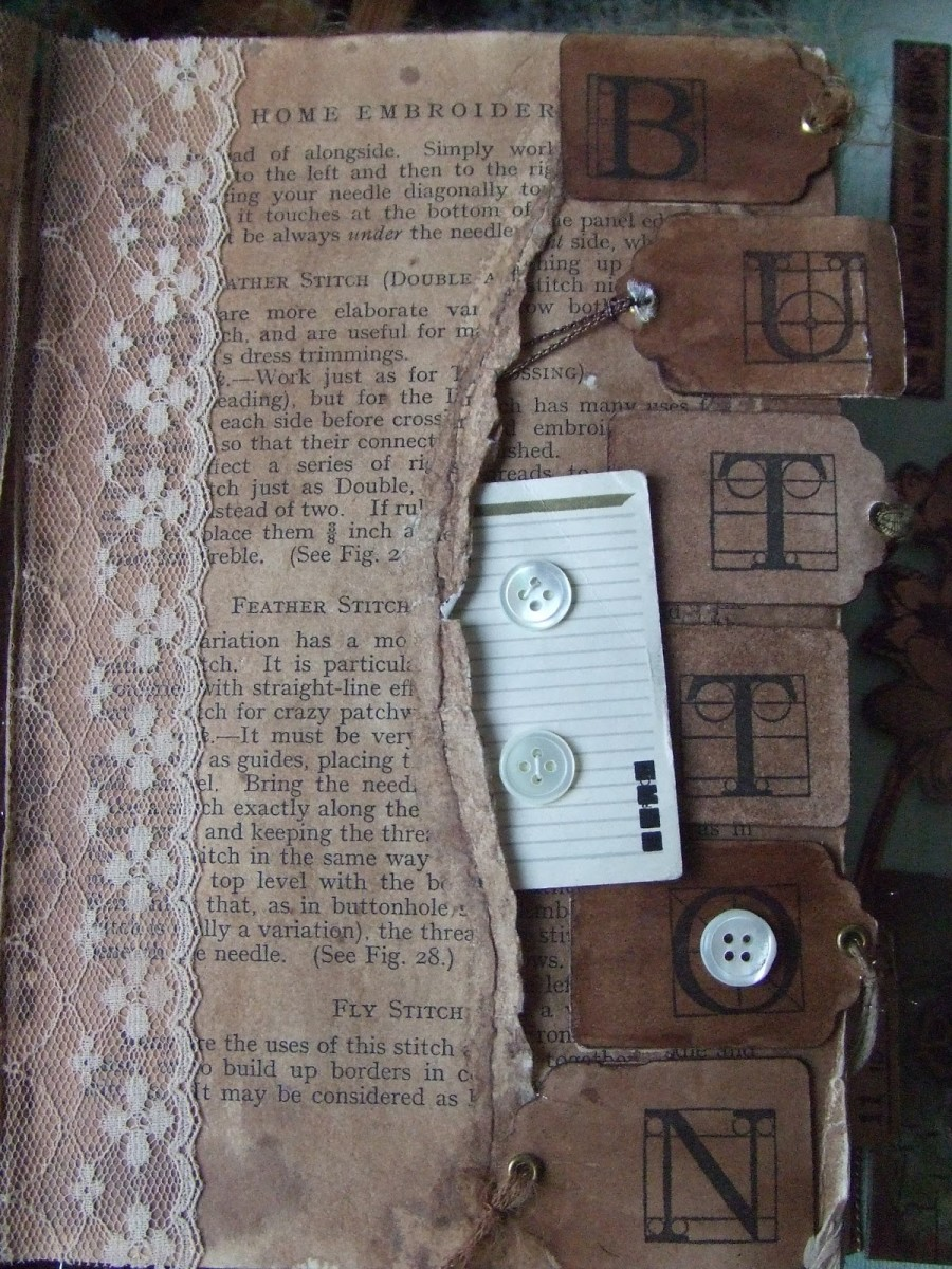 Your altered book can be created ito be anything that you want it to be.