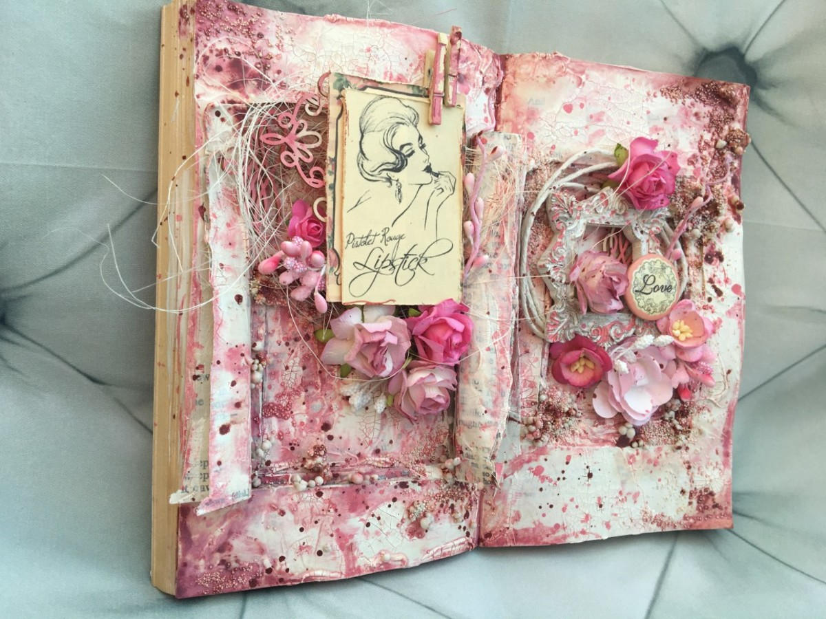 Altered Books-Tips And Ideas