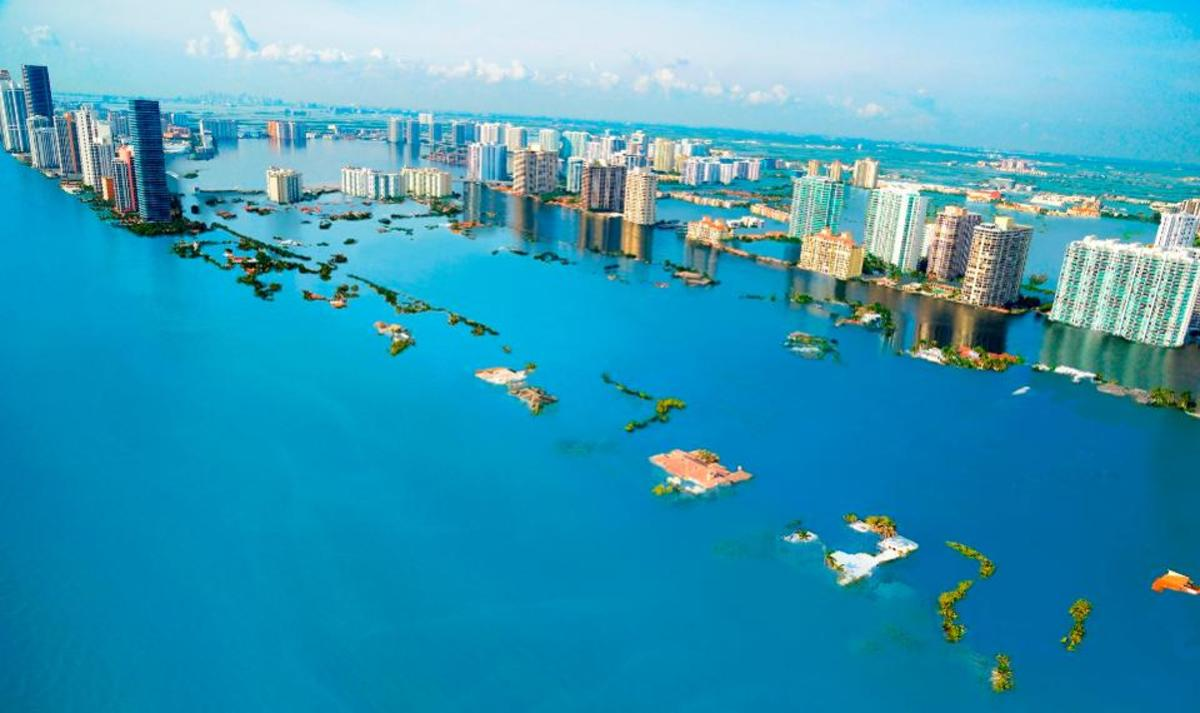 We have been warned by scientists that places like Miami Beach, Florida will be underwater in coming decades unless we address global warming.