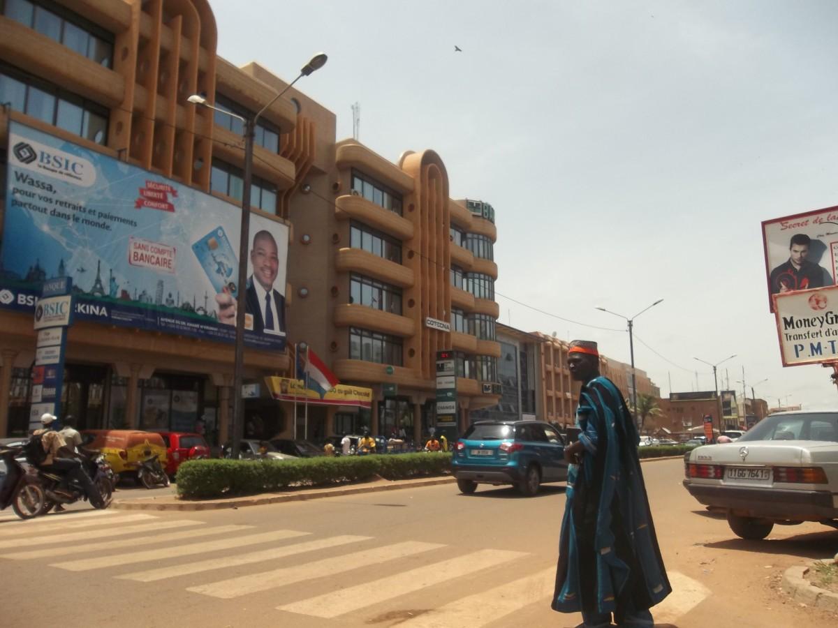 Ouagadougou city centre