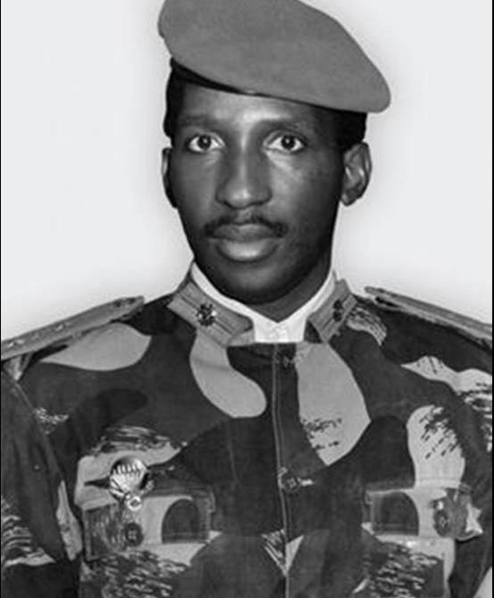 Thomas Sanakara - a former president of Burkina Faso