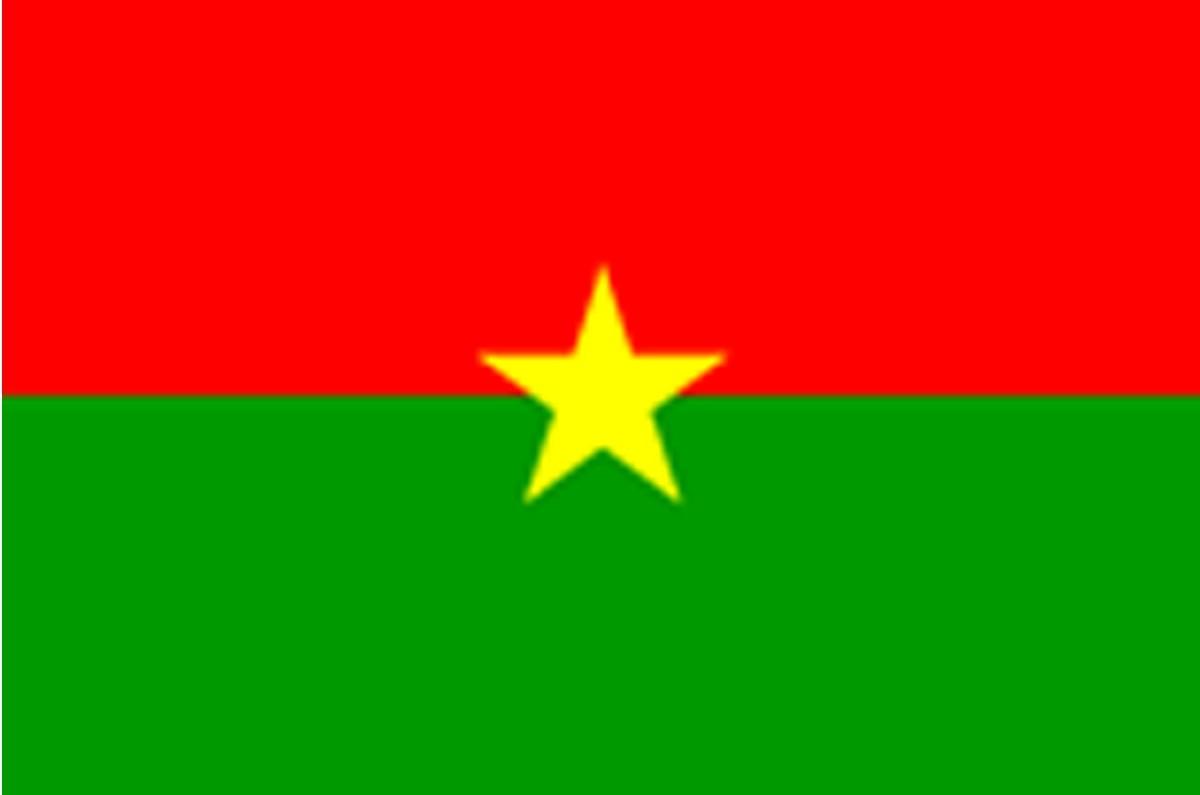 Burkina Faso Flag, 1984
