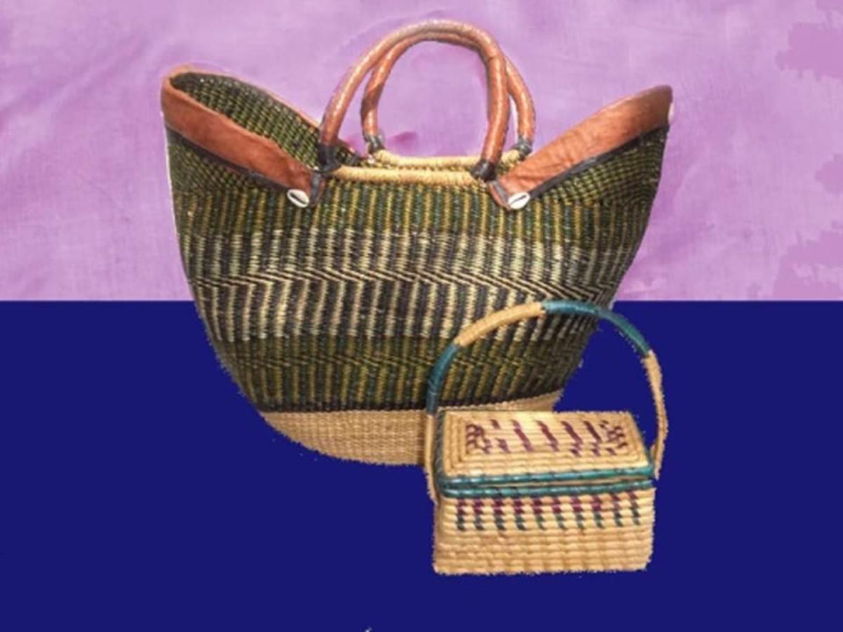 Baskets made in Ouagadougou