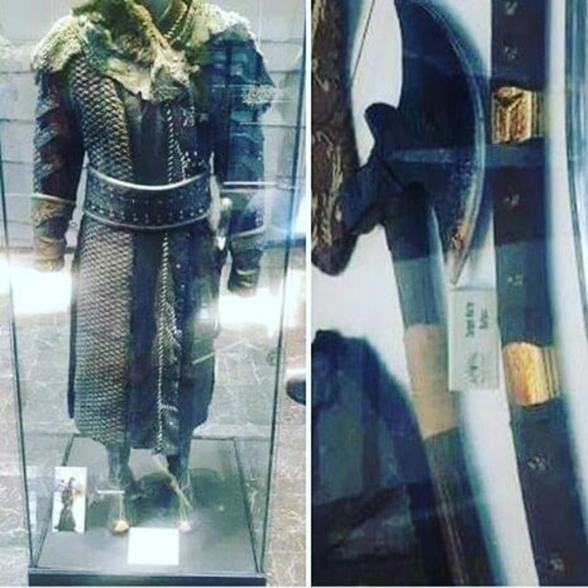 Turgut Alp's Outfit and Axe (Real)