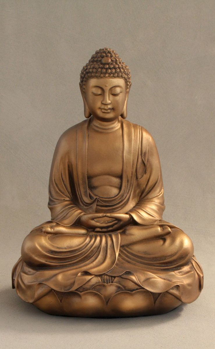 Christians And Buddha Statues