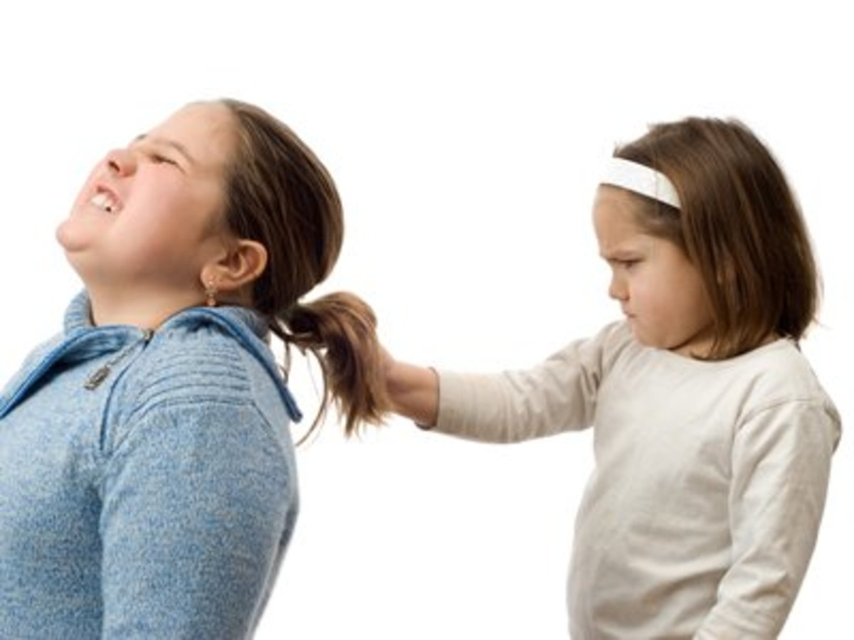 If not dealt with properly, the children may harm each other physically. —Sibling Rivalry.