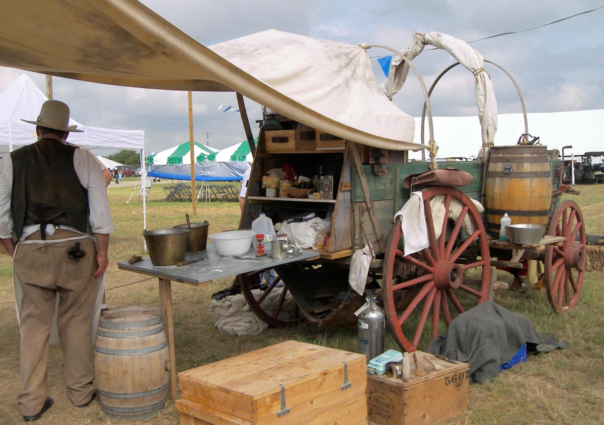 Trail Chuck Wagon