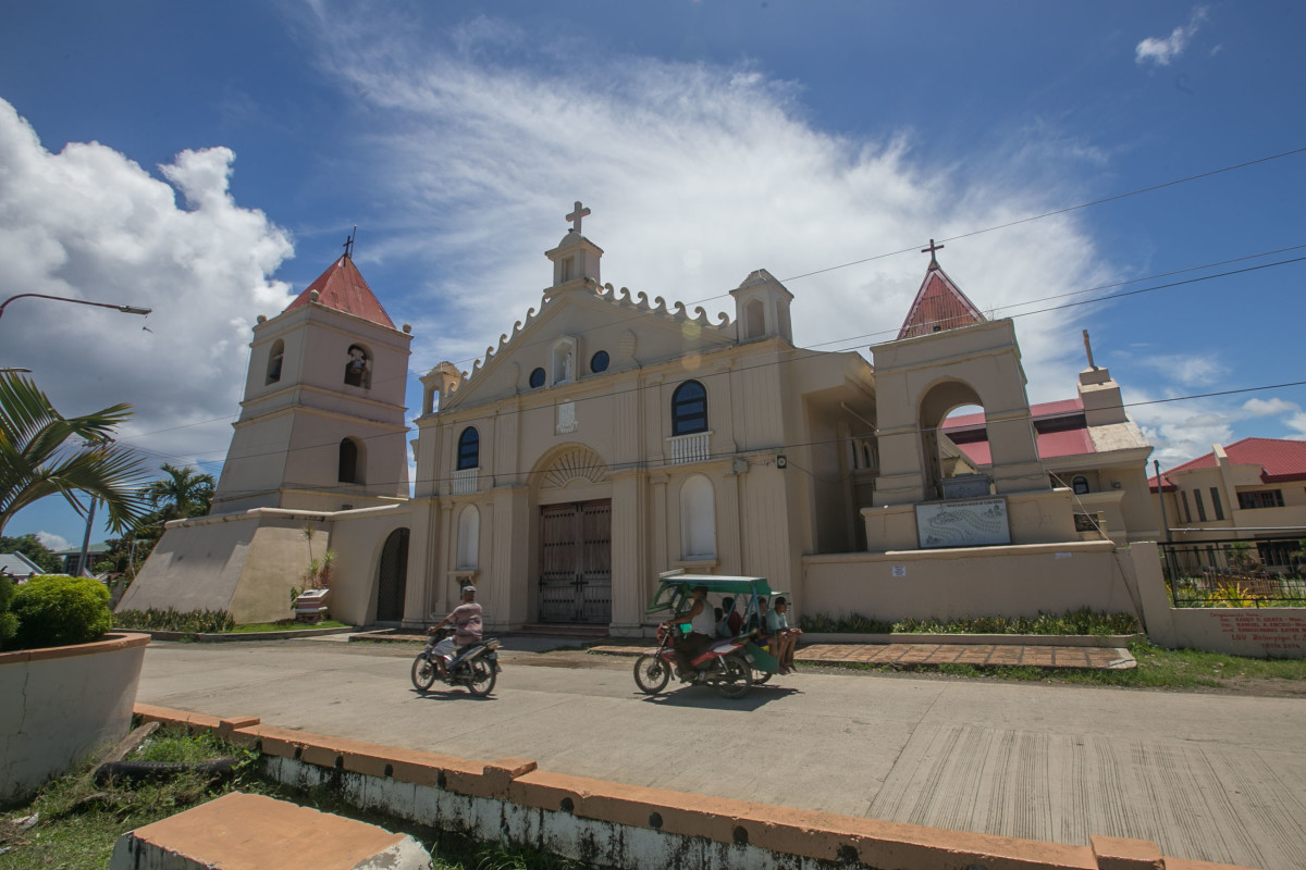 The Church of Balangiga.