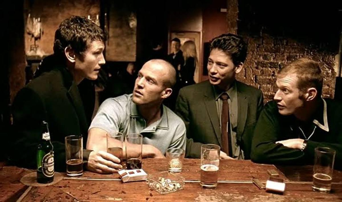 Scene from Lock, Stock and Two Smoking Barrels (1998)