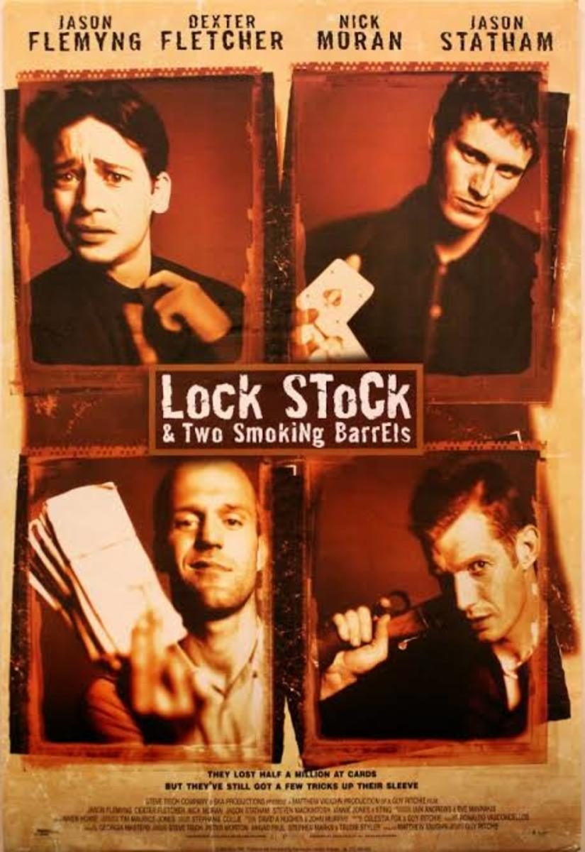 Lock, Stock and Two Smoking Barrels (1998) film poster