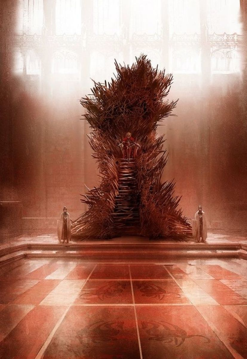 The Iron Throne, and The Trident River in A Song of Ice and Fire