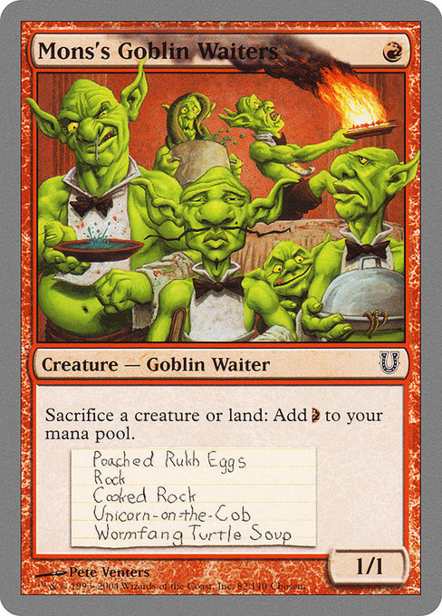 MTG : The Funniest Cards - Goblin Edition