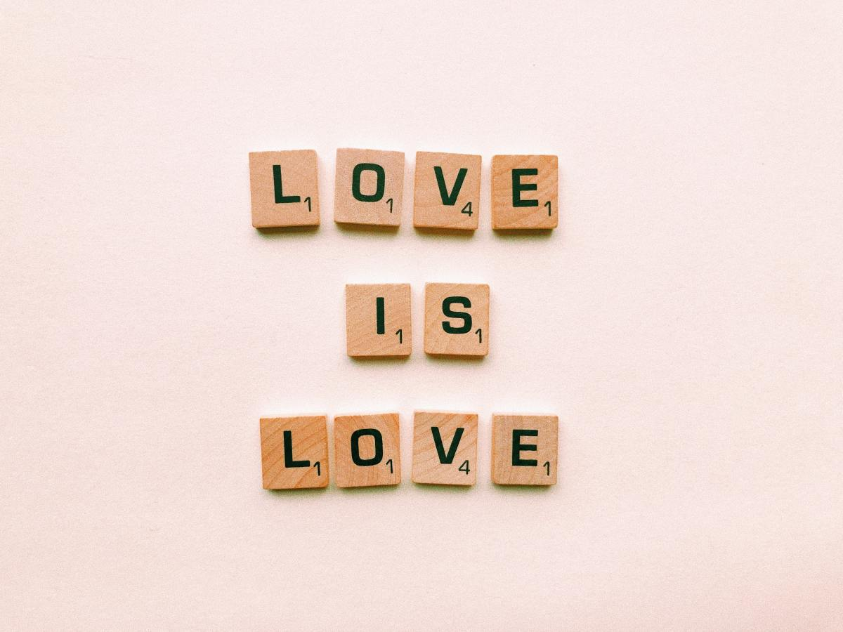Love is unconditional.